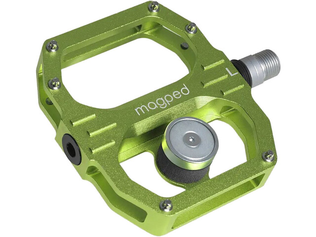 magped Sport 2 Magnetic Pedals, green